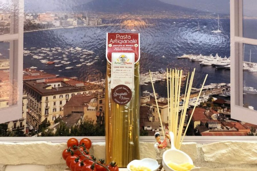 "Pasta Artigianale aus Campanien ""Spaghetti ai 3 Sapori"""
